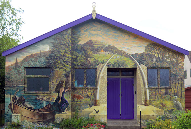 Goddess Hall Exterior by Kim von Coels