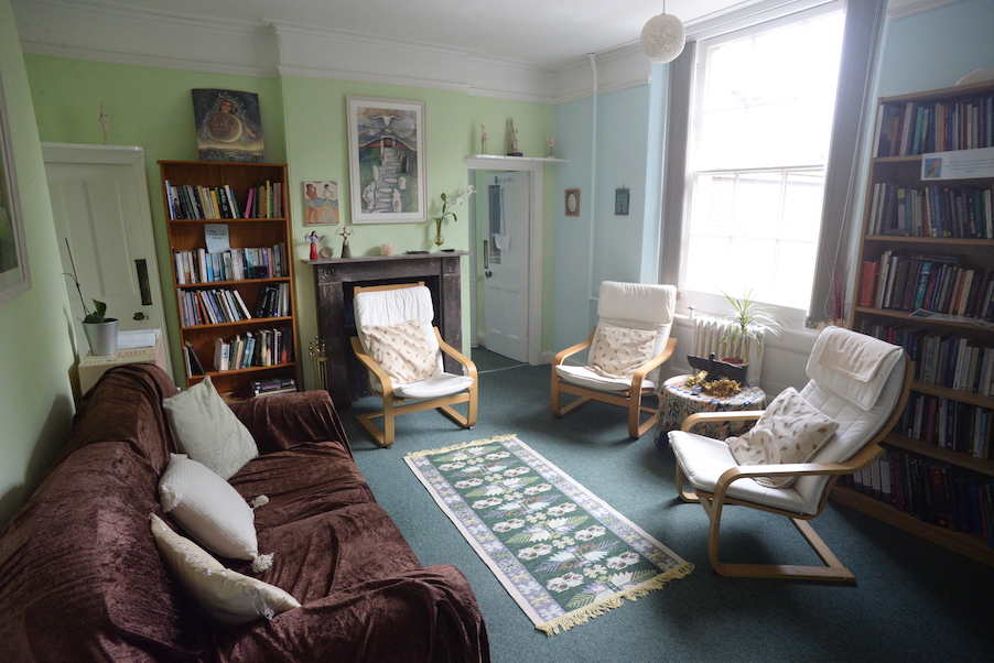 Goddess House Library, Photo by Kim von Coels