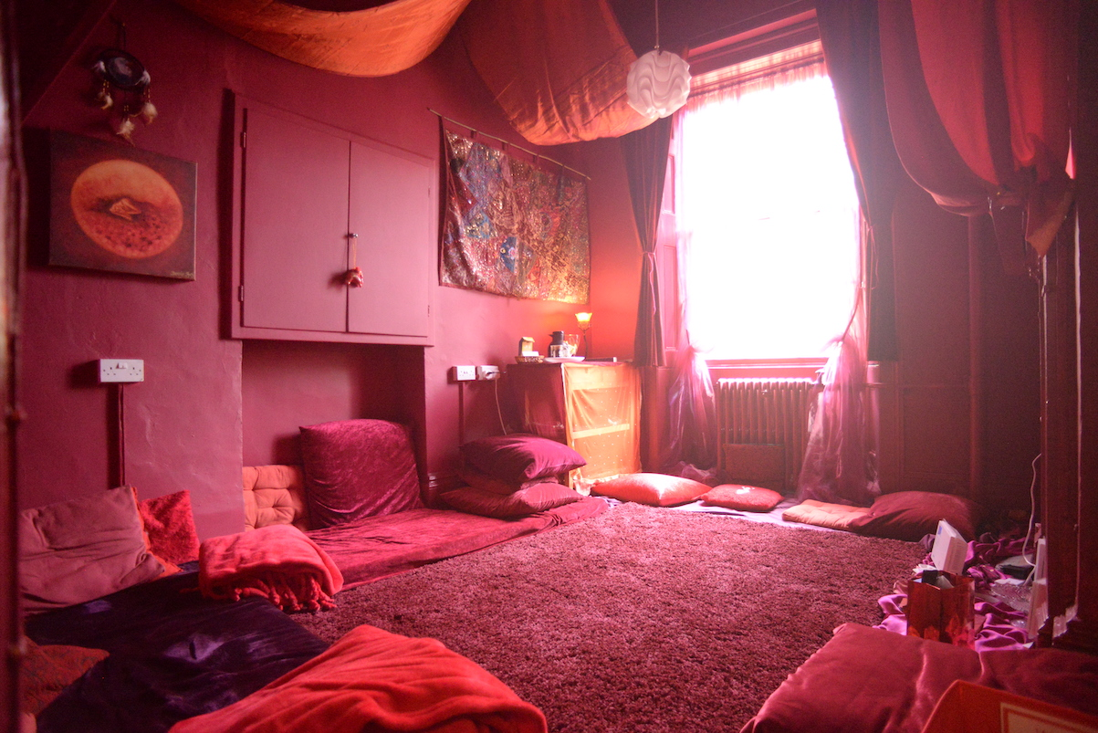 Moon Womb Room, Photo by Kim vol Coels