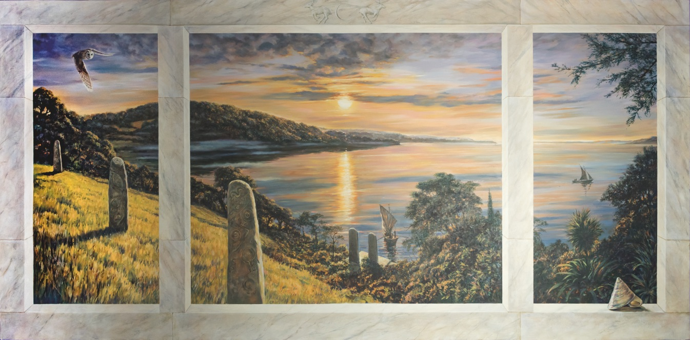 Avalon Landscape by Jonathan Minshull