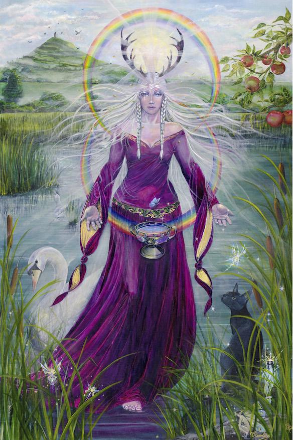 Lady of Avalon by Caroline Lir