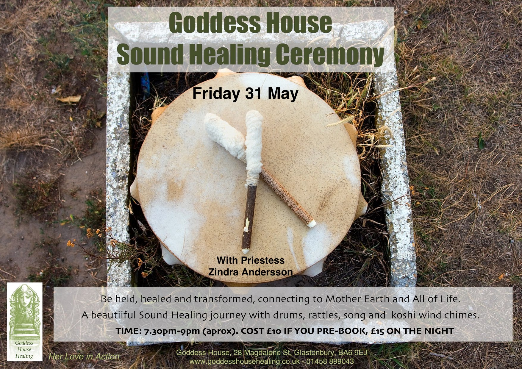 Goddess House Sound Healing Ceremony