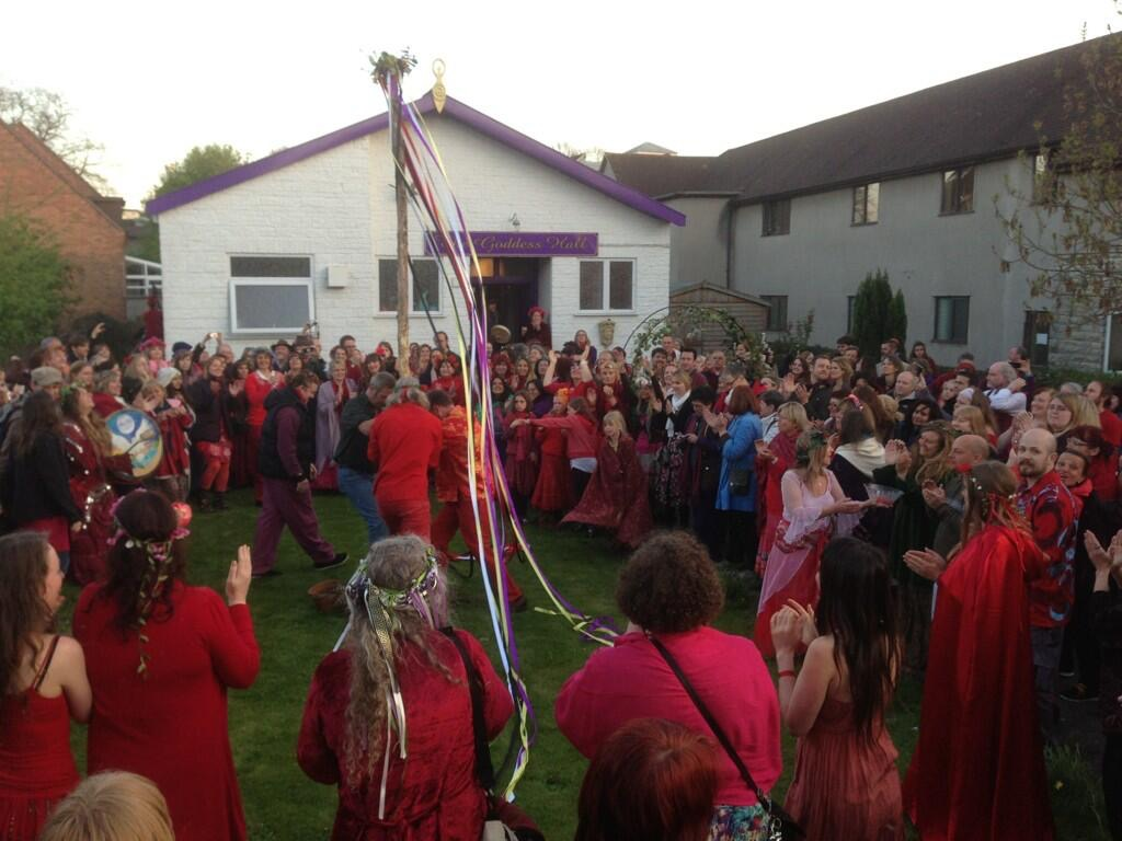 Beltane Ceremony, May 2013