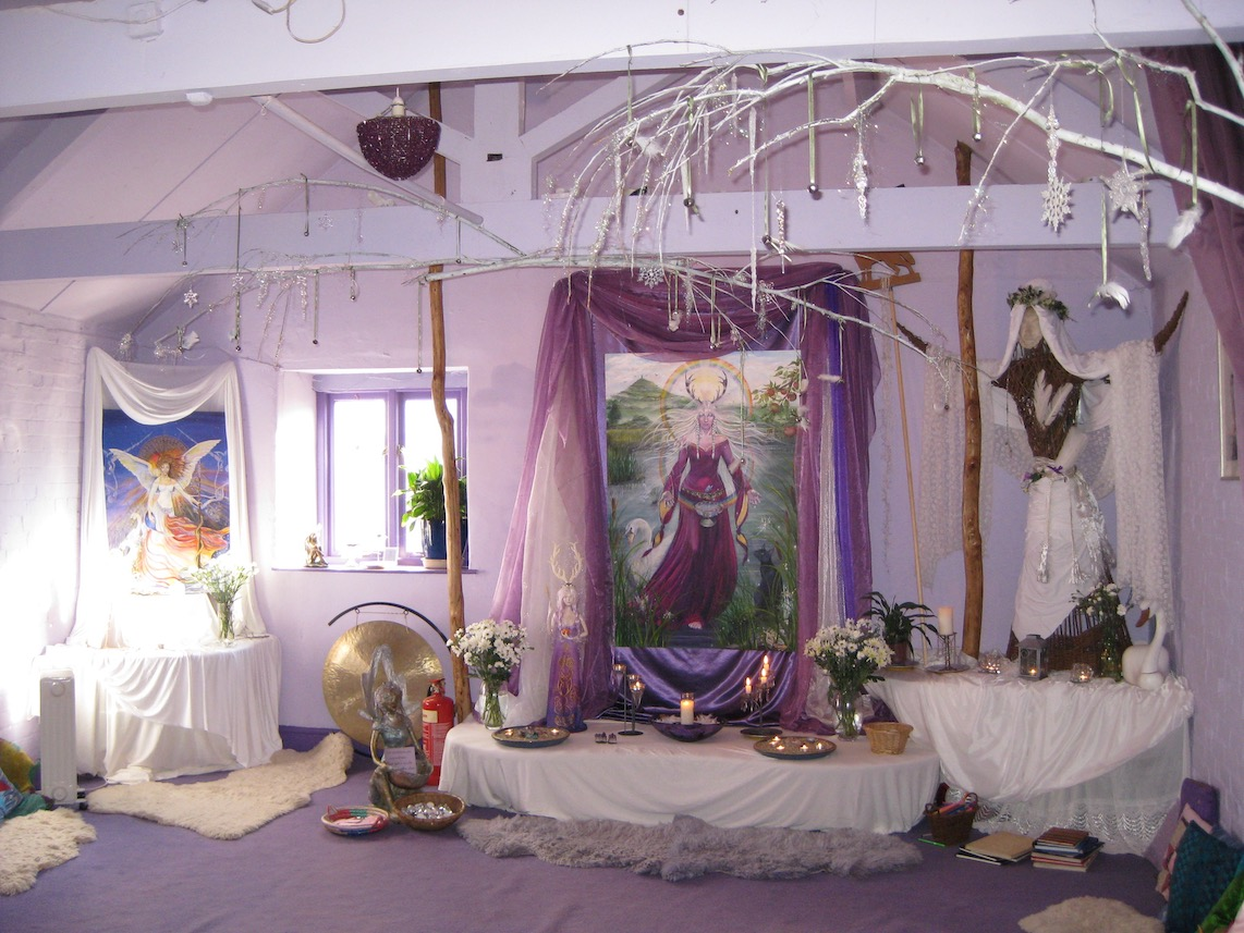 Goddess Temple in 2009 by Kathy Jones
