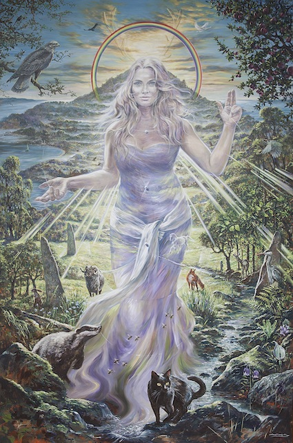 """Lady of Avalon"" by Jonathan Minshull"
