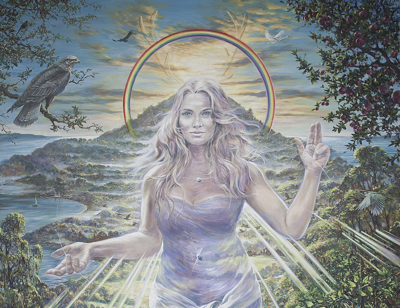 """Lady of Avalon"", by Jonathan Minshull"