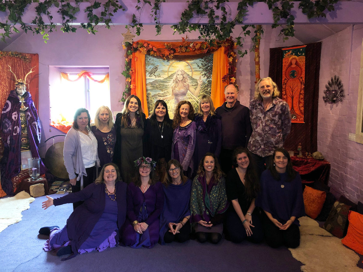 Goddess Temple Priestesses and Priests, September 2019