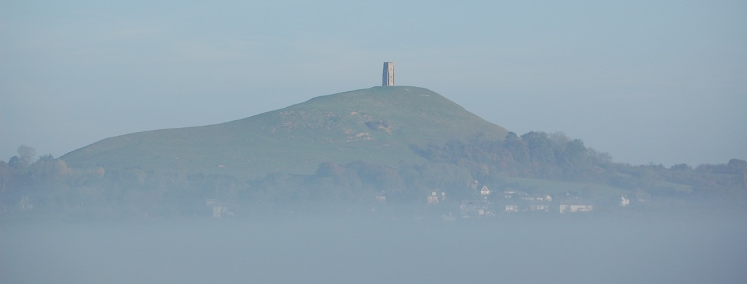 Glastonbury Tor by Kathy Jones