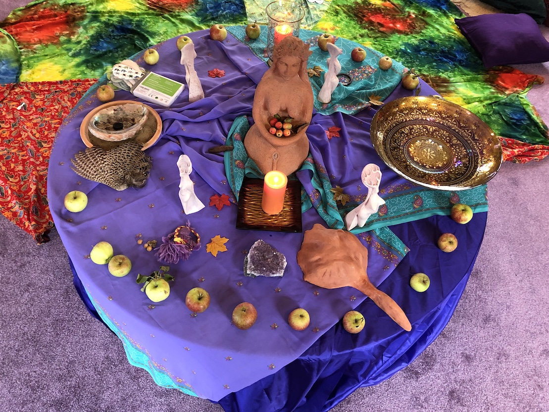 MotherWorld Gathering Altar
