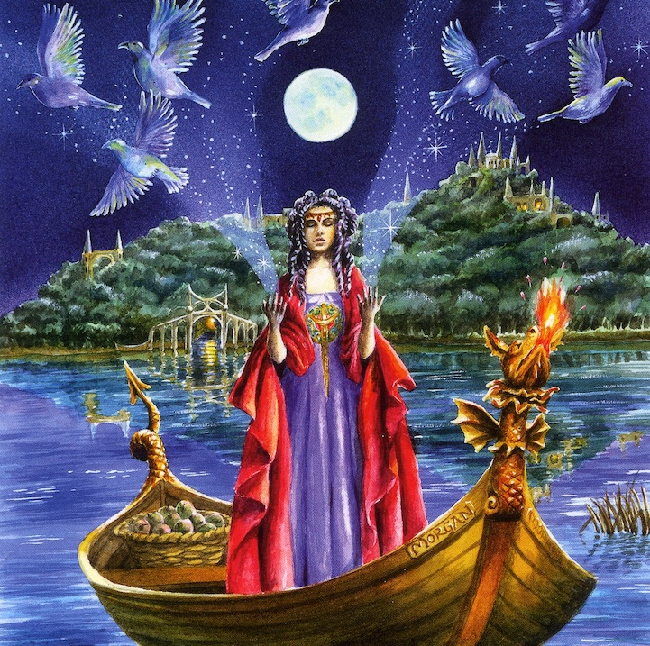 Morgan le Fay by Wendy Andrew