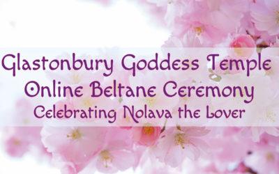 Online Ceremony for Beltane on 30th April 2020!