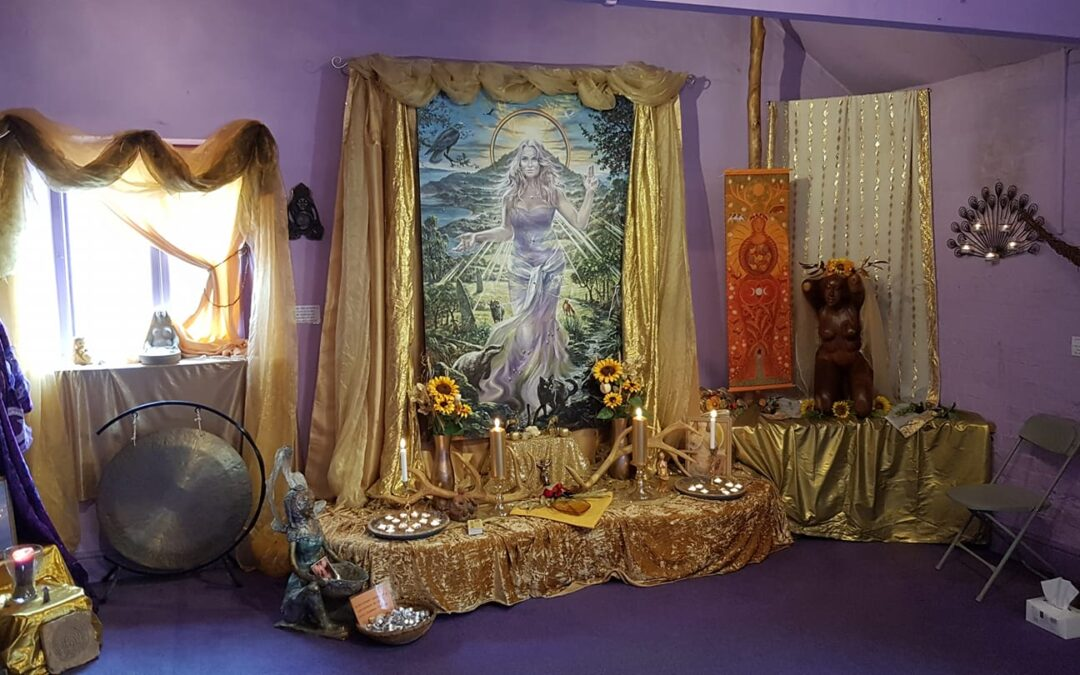 Honouring the Mother Goddess at Lammas
